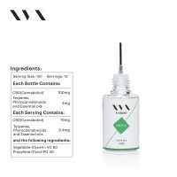 XVX CBD E Liquid / Crystal / 100mg / 5 Pack