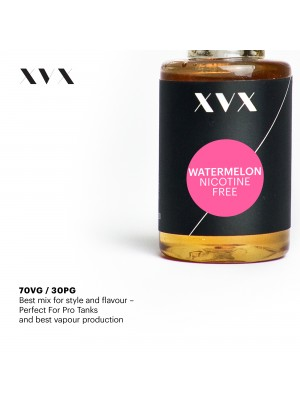 Watermelon Flavour / XVX E Liquid / 0mg