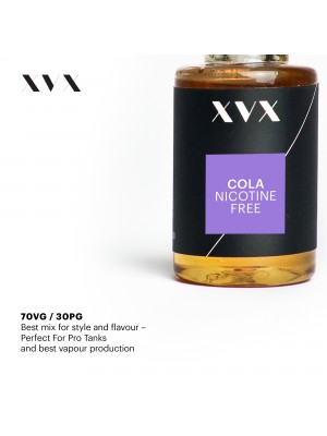 Cola Flavour / XVX E Liquid / 0mg