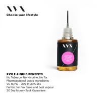 Cotton Candy Flavour / XVX E Liquid / 0mg
