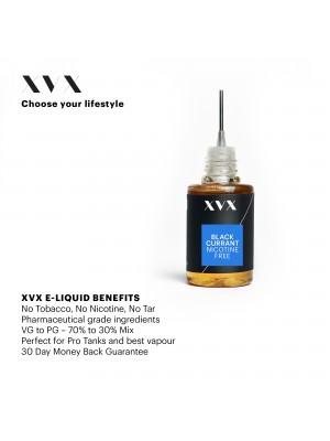 Blackcurrant Flavour / XVX E Liquid / 0mg