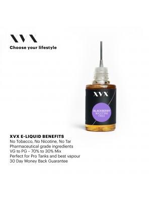 Blackberry Flavour / XVX E Liquid / 0mg