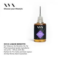 Grape Flavour / XVX E Liquid / 0mg