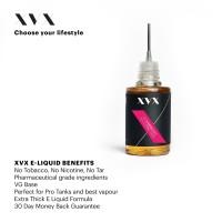Strawberry Flavour / 100% VG / XVX E Liquid / 0mg