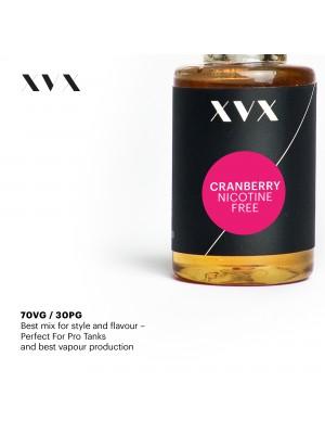 Cranberry Flavour / XVX E Liquid / 0mg