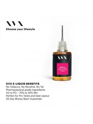 Apple Flavour / XVX E Liquid / 0mg