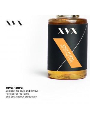 Juicy Peach Flavour / XVX E Liquid / 0mg