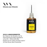 Banana Flavour / XVX E Liquid / 0mg