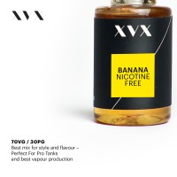 Banana Flavour / XVX E Liquid / 0mg
