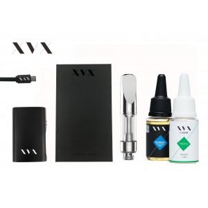 XVX ONYX Mini Box Mod CBD KIT - 100mg Crystal CBD