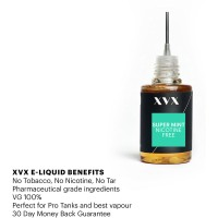 XVX E Liquid / Super Mint Flavour / VG100