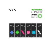 VG 100 Mix / 5 Pack / XVX E Liquid / 0mg