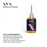 Bubblegum Mint Flavour / XVX E Liquid / 0mg