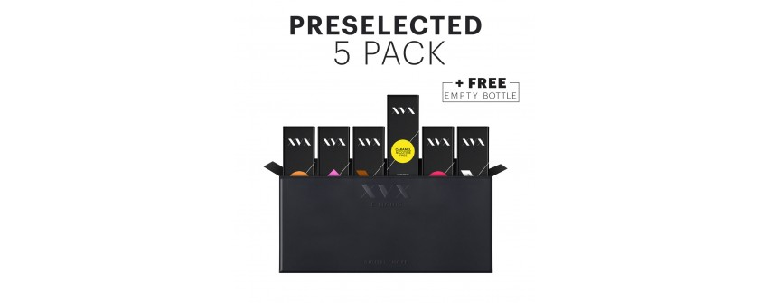PRESELECTED 5 PACKS
