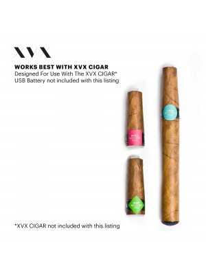 Blueberry Flavour / XVX CIGAR Refill / 2 Pack