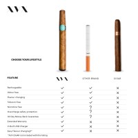 Vanilla Flavour / XVX CIGAR Refill / 2 Pack
