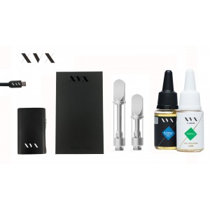 XVX CBD / ONYX Mini Box Mod CBD KIT / 100mg Full Spectrum CBD