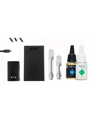 XVX CBD / ONYX Mini Box Mod CBD KIT / 300mg Full Spectrum CBD