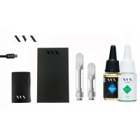XVX CBD / ONYX Mini Box Mod CBD KIT / 100mg Crystal CBD