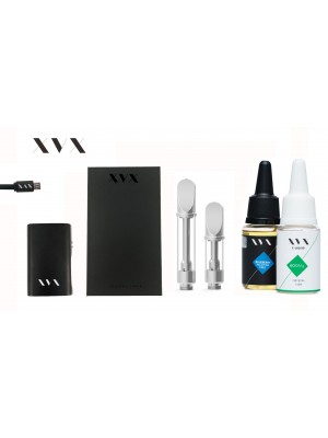 XVX CBD / ONYX Mini Box Mod CBD KIT / 600mg Crystal CBD
