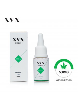 XVX CBD E Liquid / Crystal / 500mg