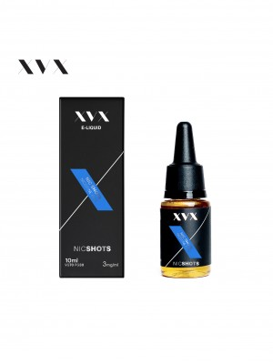 XVX E Liquid / NIC SHOT / 3MG / VG70