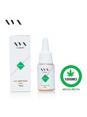 XVX CBD E Liquid / Full Spectrum / 1000mg