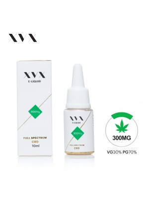 XVX CBD E Liquid / Full Spectrum / 300mg