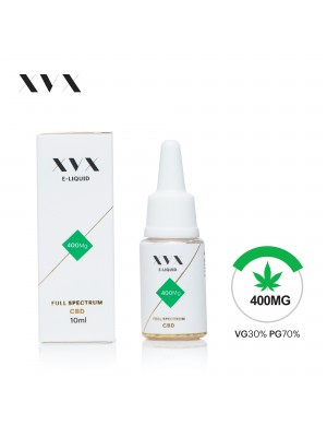 XVX CBD E Liquid / Full Spectrum / 400mg